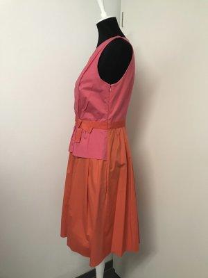 Süßes Sommerkleid pink orange Paule Ka Gr. 36