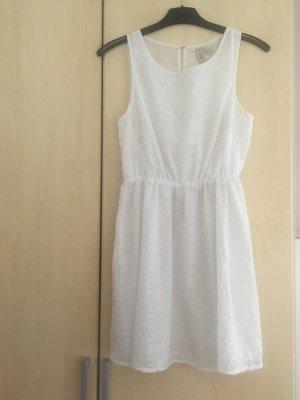 Süßes Sommerkleid weiß Gr. 36