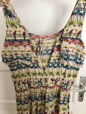 Süßes sommerliches Kleid SuiteBlanco M L 38 40 cut out