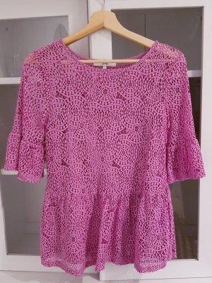 Lace Top pink mixture fibre