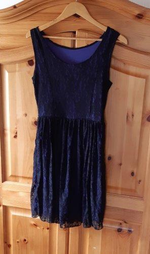 Crazy World Mini Dress black-grey violet