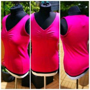 süßes Sporttop Sport Top Oberteil Shirt pink 36/38 S neu
