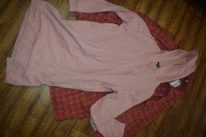 Ambiance Robe à capuche vieux rose-rose