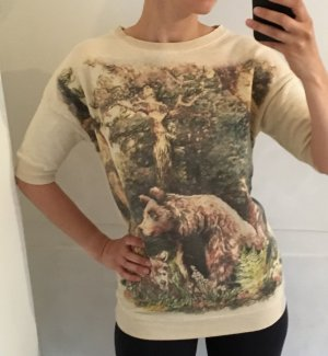 Süsses Sweatshirt mit Naturprint