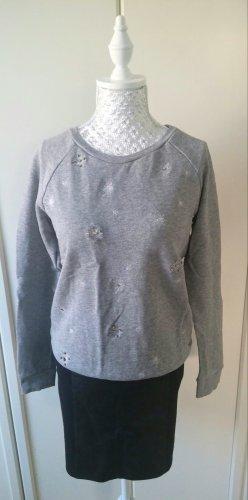 süßes Sweatshirt mit Schneeflocken von Promod