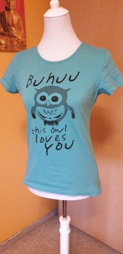 Blind Date T-shirt vert clair coton