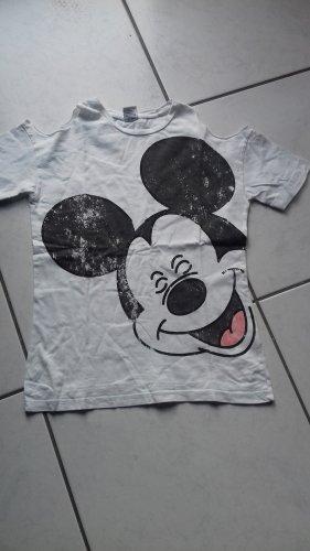 süßes T-Shirt mit Mickey Mouse Druck Gr. 34