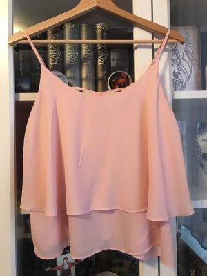 Colloseum Top peplo rosa