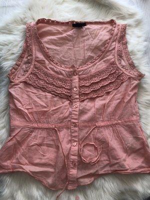 H&M Crochet Shirt pink