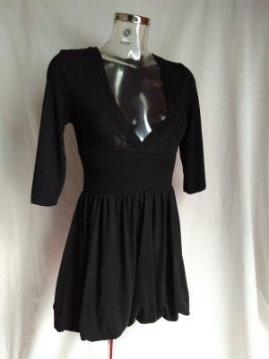 Gina Balloon Dress black