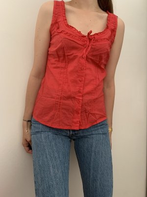 s.Oliver Blouse topje rood-lichtrood