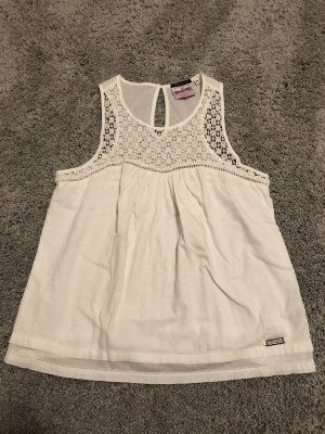 Superdry Crochet Top white