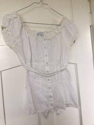 Baby Angel by Elio Fiorucci Koszula typu carmen w kolorze białej wełny