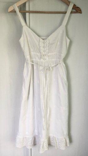 Süßes Trägerkleid Sommerkleid mit Spitze Gr. 36