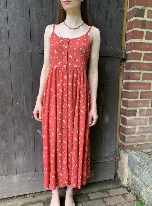 süßes vintage Trägerkleid mit Blumen