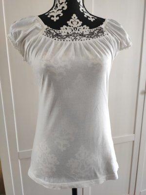 Zero Top épaules dénudées blanc