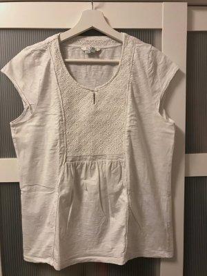 Boden T-shirt blanc coton