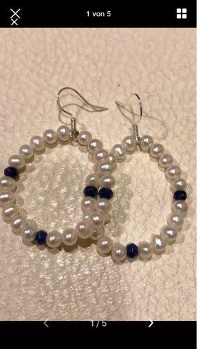 Süßwasser Perlen echt Silber 925 Ohrringe neu