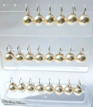 Süsswasser Perlen Ohrhänger 0.6