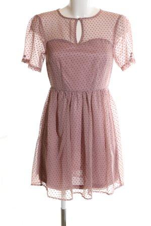 Sugarhill boutique Minikleid pink Allover-Druck Elegant