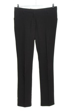 suisses collection Pantalon zwart zakelijke stijl