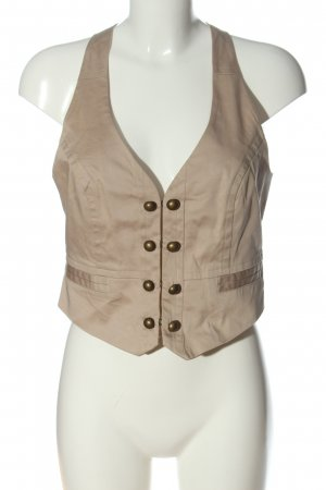 suisses collection Gilet bianco sporco stile casual