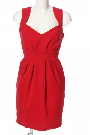 suisses collection Bleistiftkleid rot Business-Look