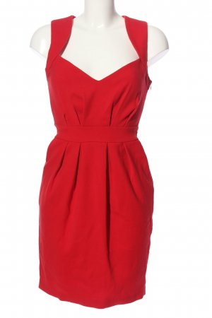 suisses collection Robe crayon rouge style d'affaires