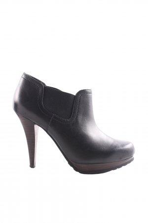 suisses collection Hochfront-Pumps schwarz-braun Casual-Look