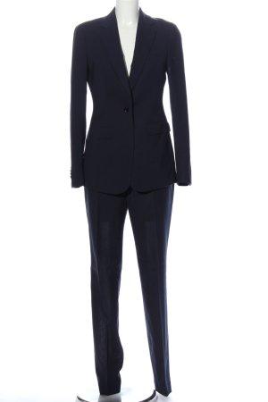SUISTUDIO Tailleur pantalone blu stile professionale
