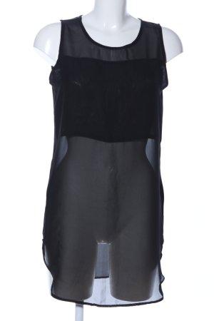 Suit Blusentop schwarz Casual-Look