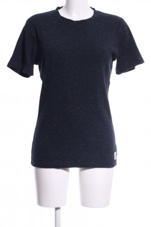 Suit T-Shirt blau meliert Casual-Look