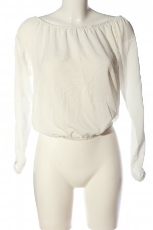 suite benedict Carmenshirt wollweiß Casual-Look
