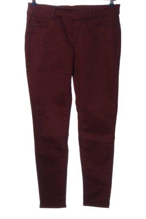 Suko jeans Stoffhose rot Casual-Look