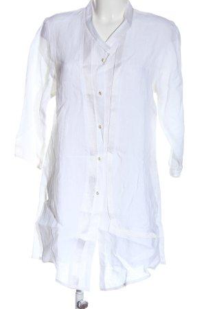 SULU Kerstin Bernecker Blouse longue blanc style décontracté