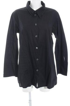 SULU Kerstin Bernecker Long-Bluse schwarz Casual-Look