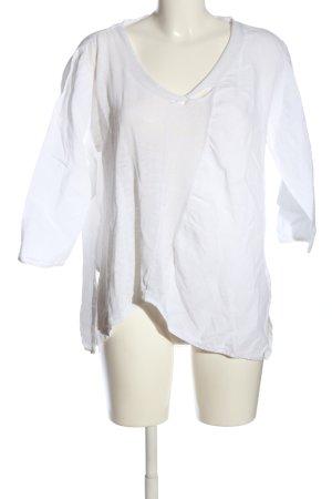 SULU Kerstin Bernecker Slip-over Blouse white casual look