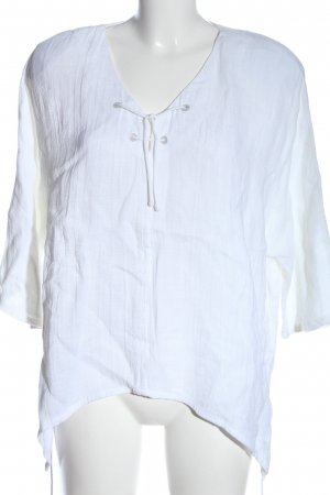 Sulu Linen Blouse white casual look