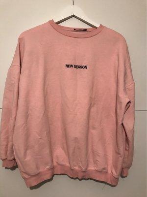 Boohoo Long Sleeve Blouse pink