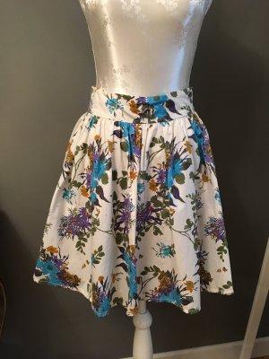 Summer Skirt FlowerPower Highwaist Vacay