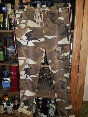 Summum Amsterdam Baggy Camouflage Hose Jeans d.g. Boho Please