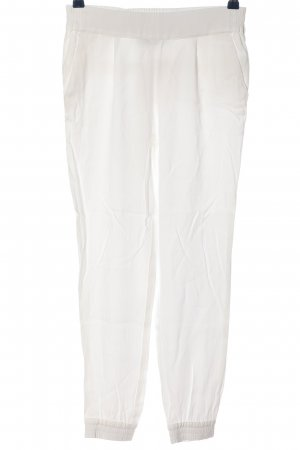 Summum Baggy Pants weiß Casual-Look
