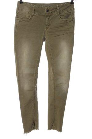 Summum Jeans a vita alta cachi stile casual