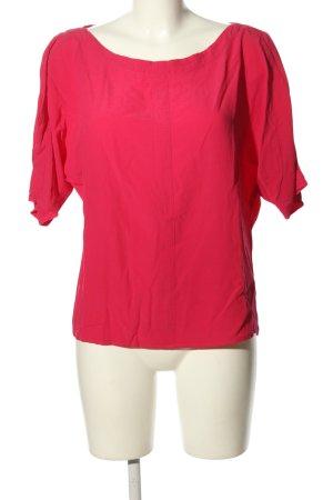 Summum Kurzarm-Bluse pink Casual-Look