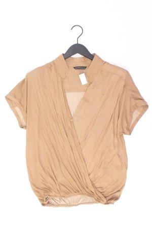 Summum Kurzarmbluse Größe 40 braun aus Polyester