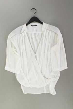 Summum Oversize-Bluse Größe 40 3/4 Ärmel weiß aus Polyester
