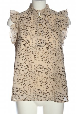 summum woman Sleeveless Blouse mixed pattern casual look