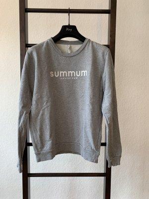 Summum Woman Logo Sweatshirt grau Gr. S/36