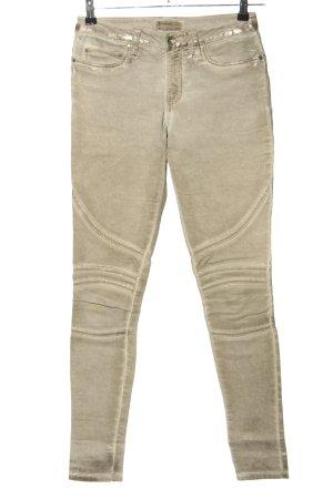 summum woman Skinny Jeans wollweiß Casual-Look