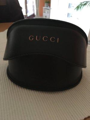 Gucci Occhiale da sole marrone scuro-beige